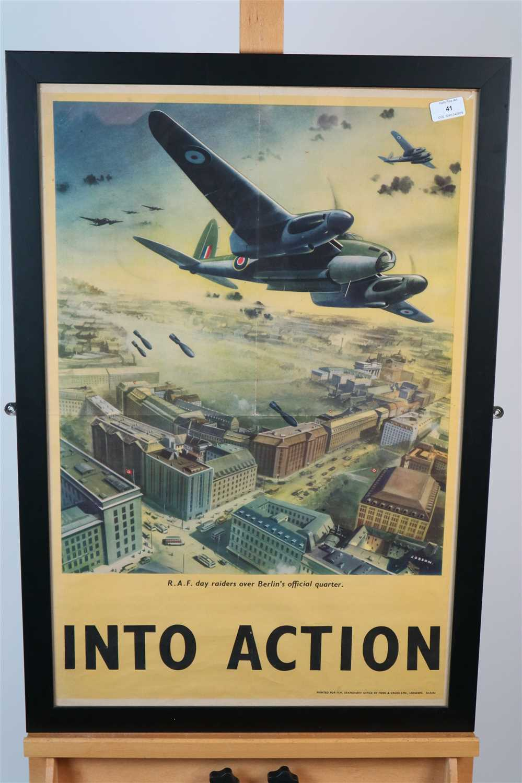 Lot 41-Ron Jobson, poster