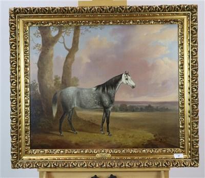 Lot 44-Follower of James Loder, horse portrait, oil
