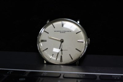 Lot 353-Vacheron Constantin Patrimony in 18ct White Gold