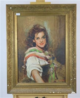Lot 30-G Giovanetti, portrait