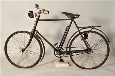 Lot 250-An early 20th century Quadrant bicycle