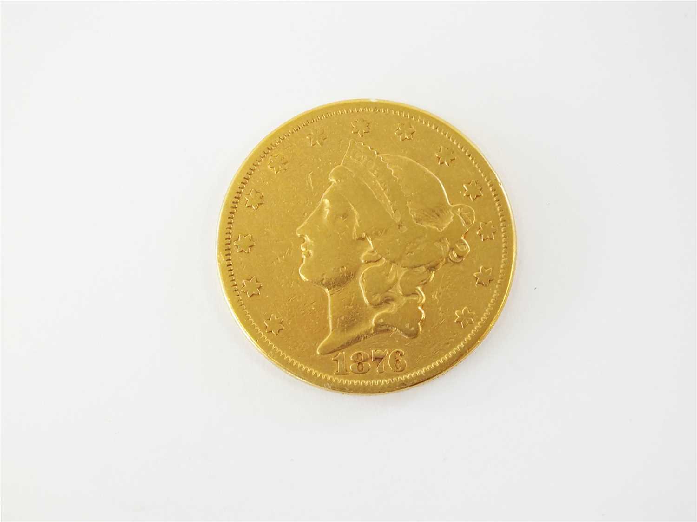 438 - A United States Coronet head 20 dollars