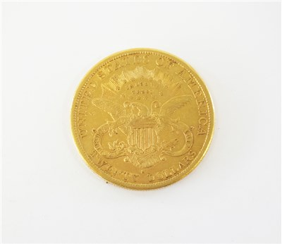 Lot 439-A United States Coronet head 20 dollars