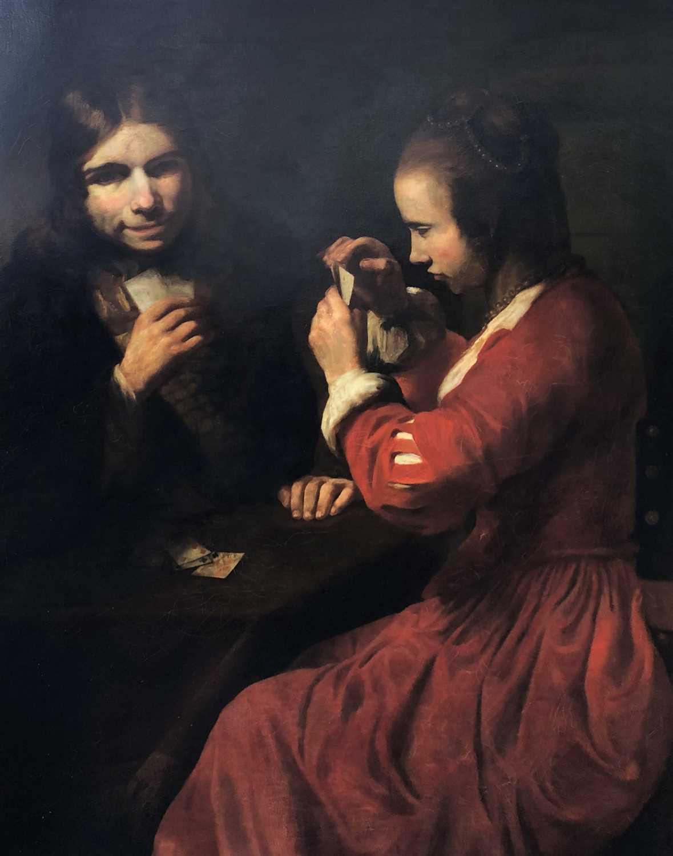 379 - Manner of Rembrandt Harmensz van Rijn (Dutch 1606-1669), The Card Players