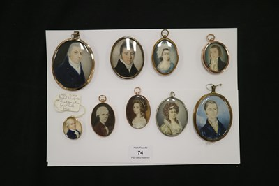 Lot 74-Collection of Miniatures