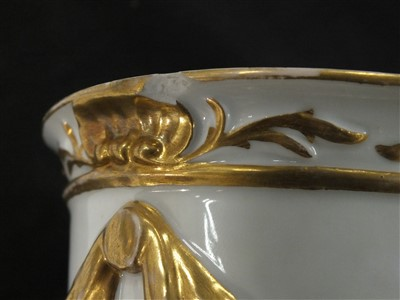 Lot 7-Furstenburg porcelain goblet and cover