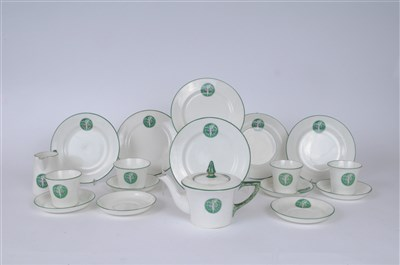 Lot 9-A rare and important Suffragette tea service