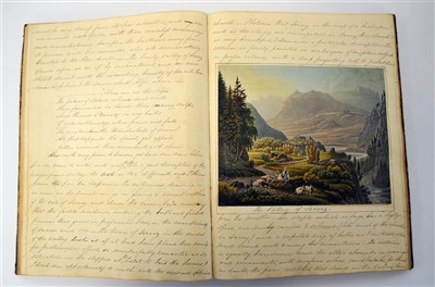Lot 294-MANUSCRIPT. Account of a Tour Thro' France and...