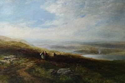 Lot 200 - Edmund Morison Wimperis (British 1835-1900) Across the Common