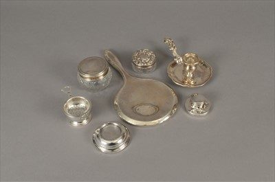 Lot 16-A small collection of silver