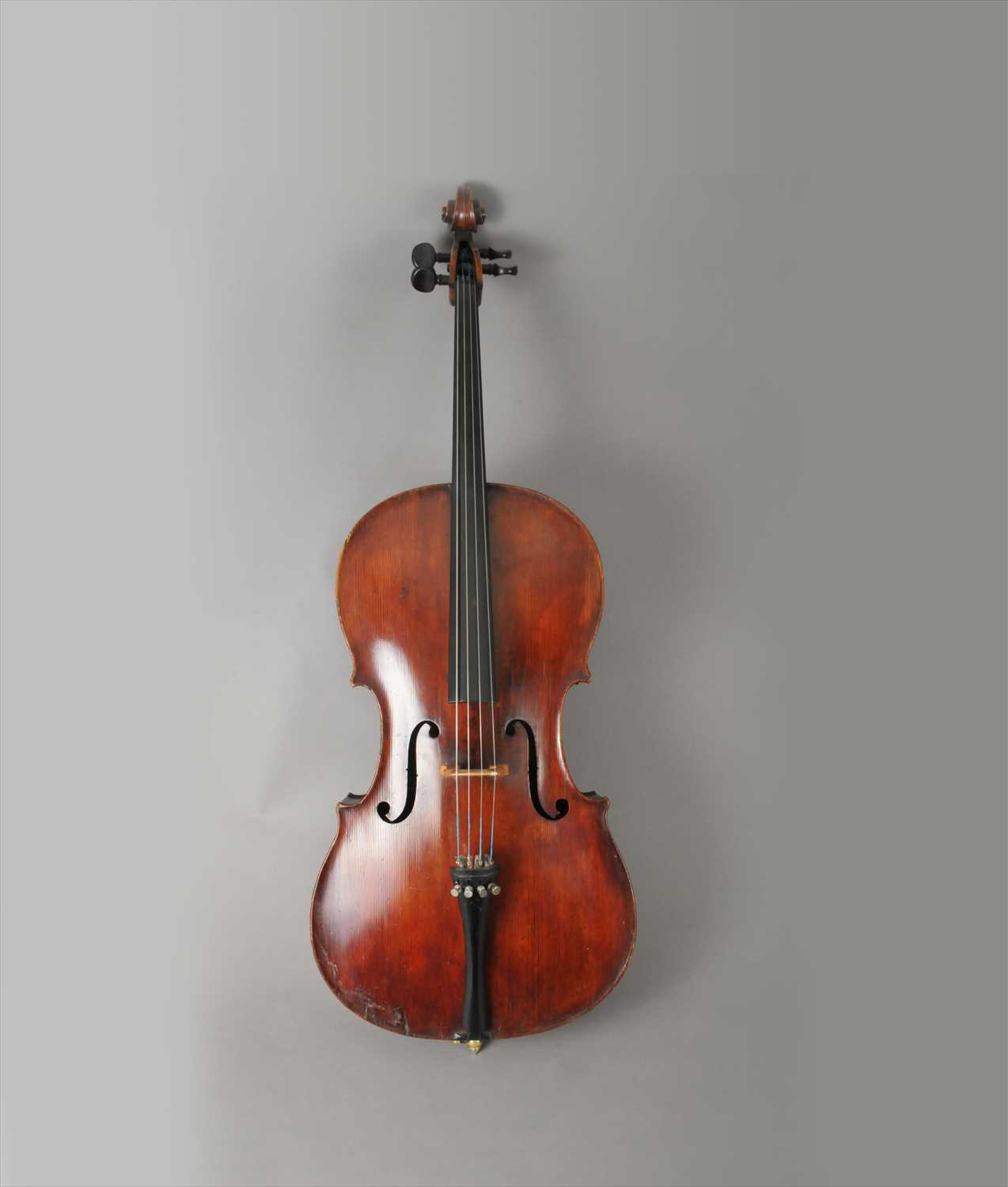650 - Attributed Panormo School (Edward Ferdinand Panormo, an English violoncello, c1830