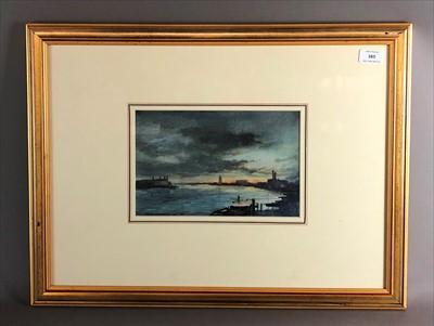 Lot 22-Roy Hammond, watercolours