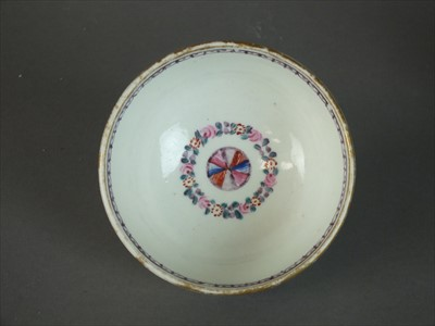 Lot 280 - Caughley teabowl and saucer