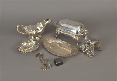 Lot 11-A collection of silver plated wares