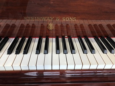 Lot 649 - A Steinway Model M boudoir grand piano, circa late 1926 / early 1927