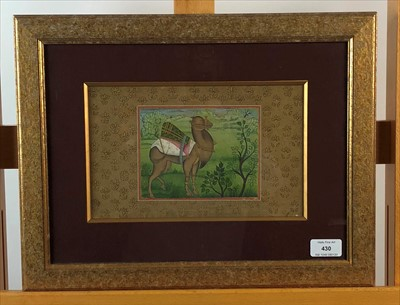 Lot 30-Mogul School, early 20th century, pair of gouaches