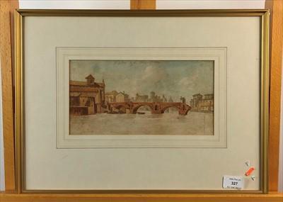 Lot 12-John Warwick Smith, watercolour