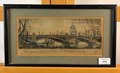 Lot 27-View of London