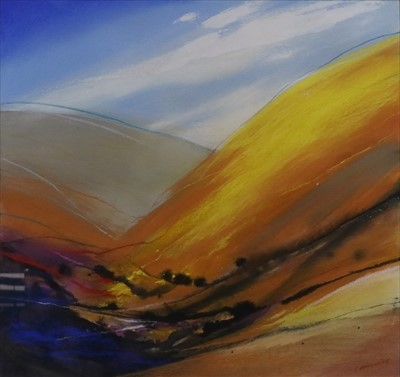 Lot 26-Neil Canning (British Contemporary, St. Ives School), Lake I