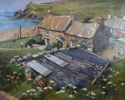 Lot 14-Warren Storey RWA (British Northern School 1924-2008), Abereiddy