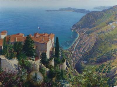 Lot 7-Lionel Aggett (British 20th Century, 1938-2009), Cote d'Azur