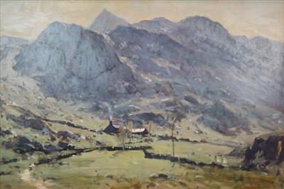 Lot 20-James Longueville PS PBSA (British Northern School), Mountain Farm, Snowdon