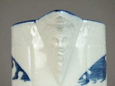 Lot 338 - Caughley jug named to 'Mr. Berridge', dated 1790