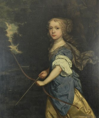 Lot 746 - Circle of Sir Peter Lely, portrait, oil on canvas