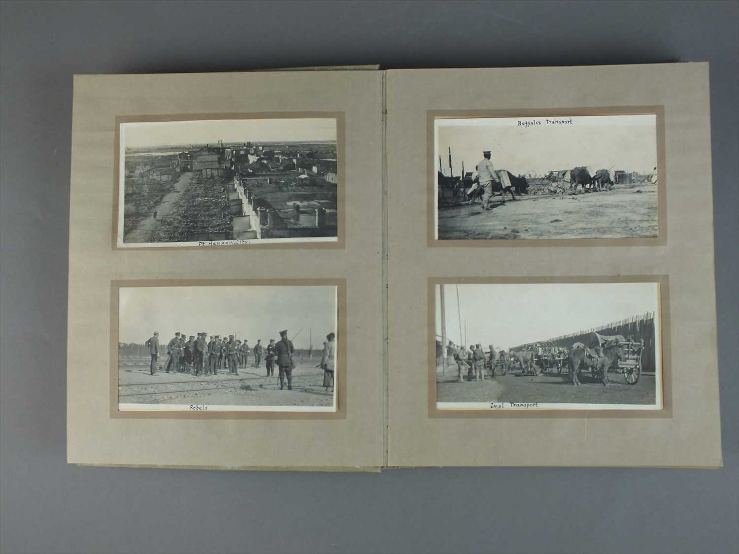 603 - Album of photographs taken during the Revolutionary Period in China