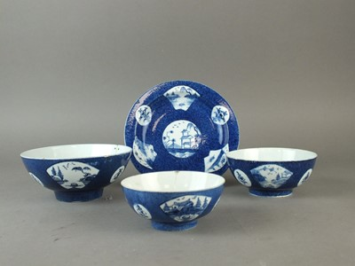 Lot 275 - Three Bow bowls and a stand