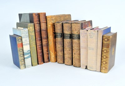 Lot 19 - A miscellaneous collection of books, including:...