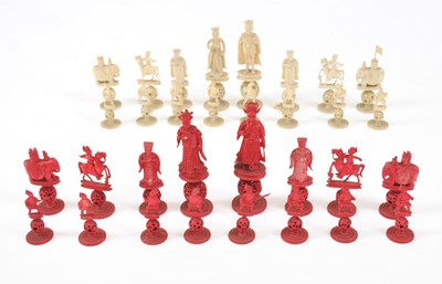 Lot 17 - A 19th century Chinese, King George and Queen...