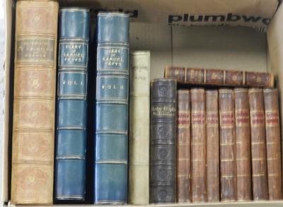 Lot 12 - Diary of Samuel Pepys, 2 vols 1924. Half blue...