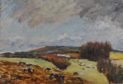 Lot 407 - Paul Lucien Maze (Anglo-French 1887-1979), Sussex in October