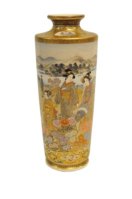 Lot 445 - A late 19th century tapering cylindrical...