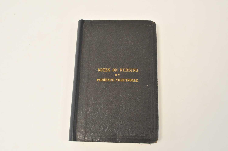 Lot 71 - NIGHTINGALE, Florence, Notes on Nursing. New...