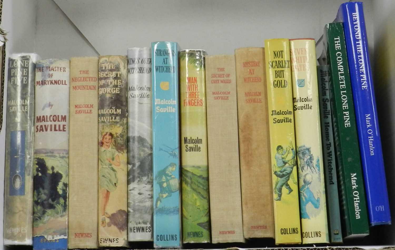 Lot 13 - SAVILLE, Malcolm, Lone Pine Five, 1st edn 1949...