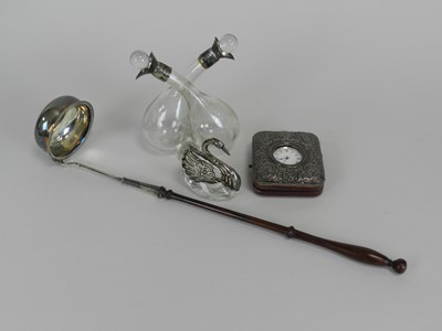 Lot 2 - A small collection of silver