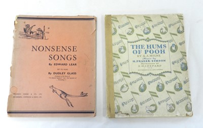 Lot 40 - MILNE, A A, The Hums of Pooh, music by H...