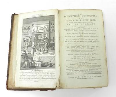 Lot 29 - HENDERSON, William Augustus, The Housekeeper's...