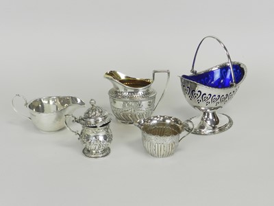 Lot 19 - A Victorian silver cream jug