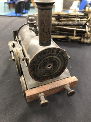 Lot 383 - An early 20th century brass steam model...