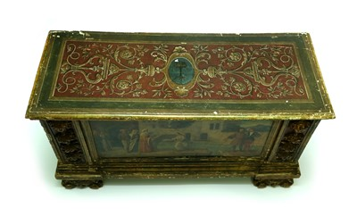 Lot 454 - A 17th century, Italian, Baroque style cassone