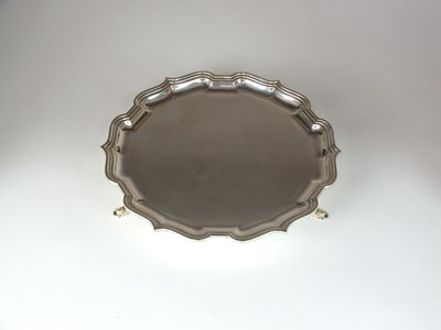 Lot 8 - A silver waiter