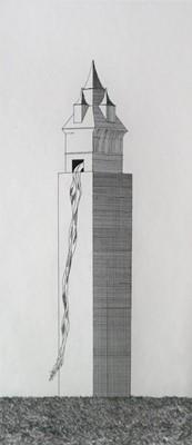 Lot 26 - David Hockney (British b.1937) The Tower Had One Window