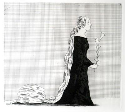 Lot 25 - David Hockney (British b.1937) The Older Rapunzel