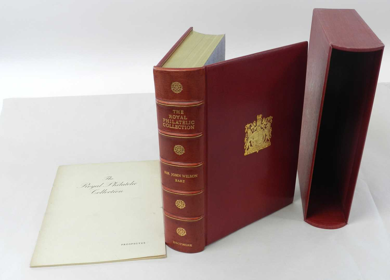 Lot 5 - WILSON, Sir John, Bt., The Royal Philatelic...