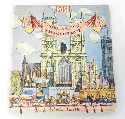 Lot 8 - CORONATION PEEPSHOW BOOK, 1953. Not made up.