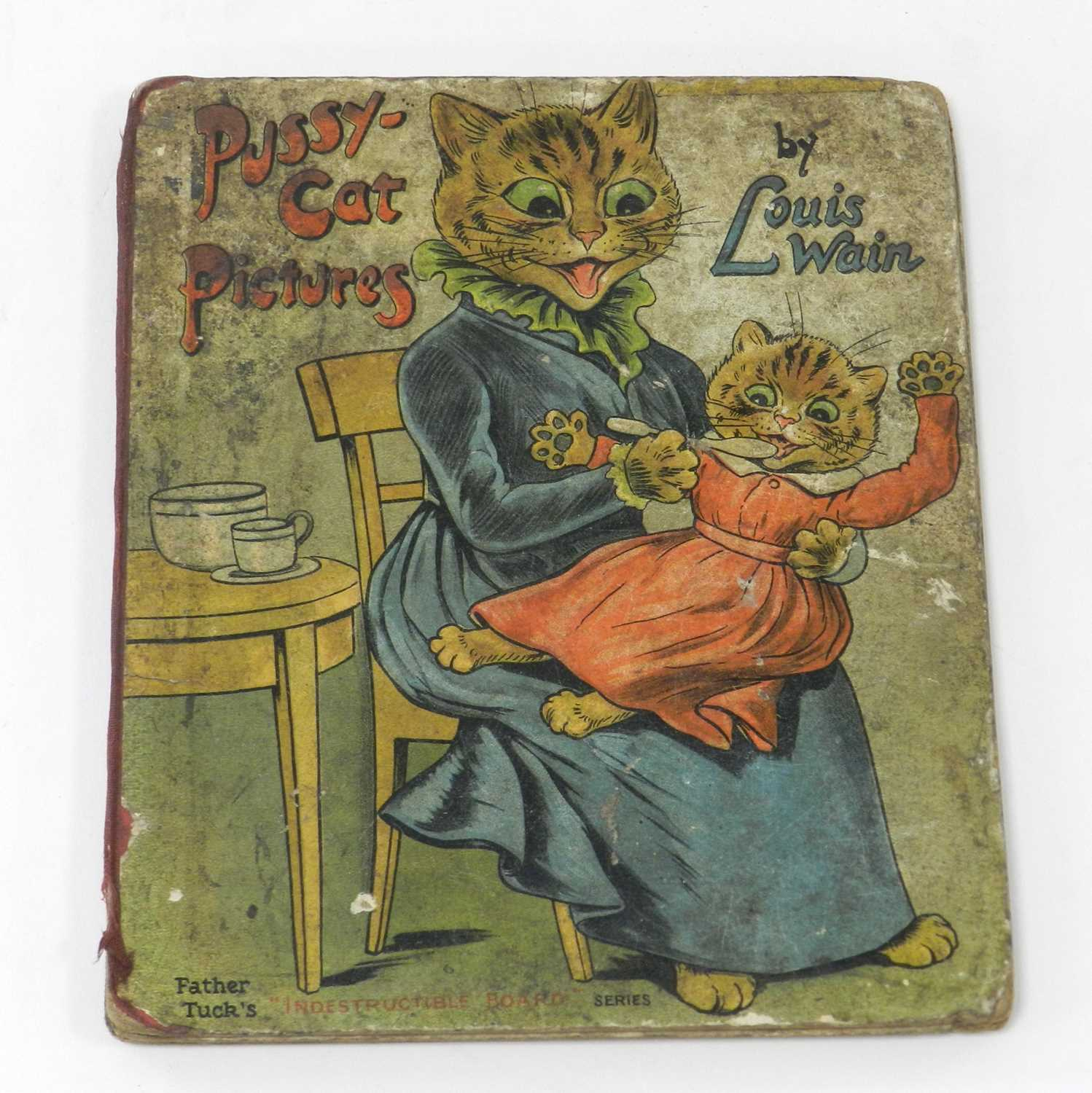 Lot 21 - WAIN, Louis, Pussy-Cat Pictures. Small 4to,...