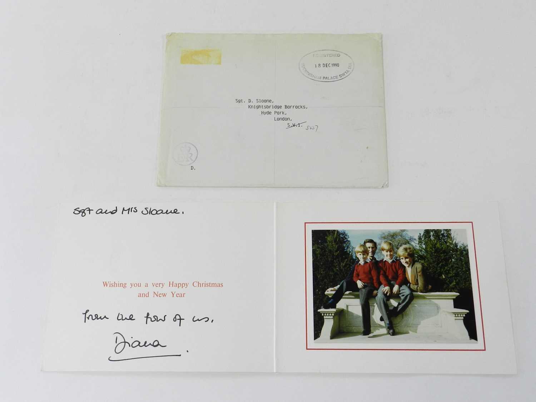 Lot 24 - DIANA, PRINCESS OF WALES (1961-1997), signed...